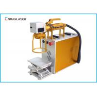 China 110*110mm Raycus Power 20W Led Bulb Industrial Fiber Laser Marking machine Systems on sale