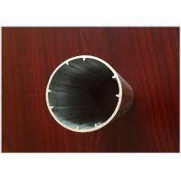 Buy cheap Round Tube Aluminum Extrusion Profiles Black Electrophoresis Finish for Dia 25MM / 22MM from wholesalers