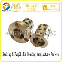 Buy cheap Oilless Components Series Oilless Brass Bushing,Guide bushes,Graphite bushing from wholesalers