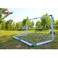 Interior / Outside Football Goal Nets Compact Design With White Mesh Net Manufactures