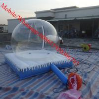 camping inflatable clear tent Manufactures