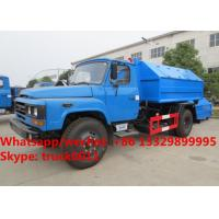 Factory sale dongfeng long nose 6m3 hook lift garbage truck, wholesale lower price dongfeng hook wastes container truck Manufactures