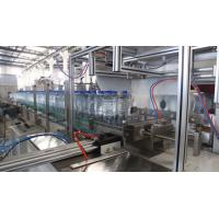 Washing Filling Capping 3 in1 automatic bottle drinking water filling machine water bottling plant