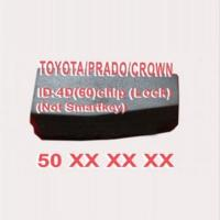 Toyota ID4D60 chip Manufactures