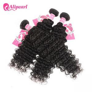 Deep Wave Brazilian Human Hair Bundles Virgin Remy Hair Extensions Grade 8A Manufactures
