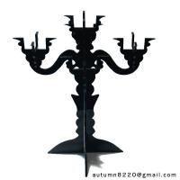 CH (16) clear fake glass candelabra Manufactures