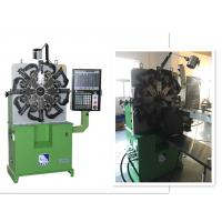 Cam Versatile Spring Making Machine With Quill Rotary Axis And Feeding Axis Manufactures