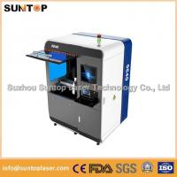 Small size metal laser cutting machine , Fiber laser cutting equipment Manufactures