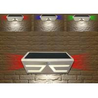 Solid Solar Powered Outside Motion Lights , Led Solar Security Light With Motion Detector Manufactures