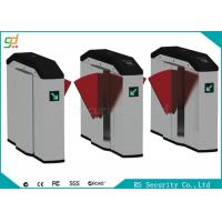 Smart Retractable Flap Barrier Gate Turnstile Security Subway Wing Gate Manufactures