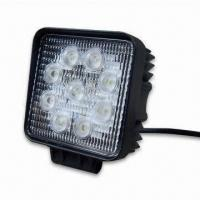 27W LED Work Lamps, 12V 24V DC, Available In Flood And Spot Beam Pattern Manufactures
