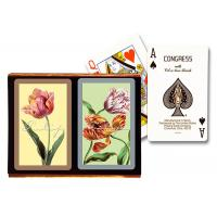Plastic Congress Marked Playing Cards Decks Invisible Ink Processed Playing Cards Manufactures