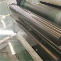 Customized size clear polyester hard PET sheet film rolls for thermoforming Manufactures