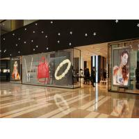 Buy cheap Ultra Thin P10 Transparent Glass LED Display Mesh With 75% Transparency from wholesalers