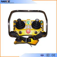 Double Joystick Remote Control Wireless Hoist Remote Control 5 Level IP65 Manufactures