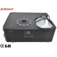 Professional DMX Stage Up Fog Machine 1500 Watt With 12 * 3w RGB LED  X-01 Manufactures