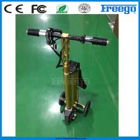 Fastest Folding Three Wheel Electric Scooter bicycle Motor Bike , Electric Vehicle Manufactures
