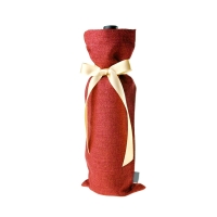 Luxury L14.8*H36CM Cotton Glass Bottle Protective Sleeve Manufactures
