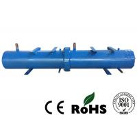 R407c Refrigerant Titanium Shell And Tube Heat Exchanger Brine Water Tube Medium Manufactures