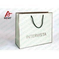 Handmade Custom Color Print Shopping Recycle Paper Bag with Handle , UV Finishing Manufactures