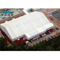 A Shaped Outside Party Tents , Flame Retardant Marquee Event Tent Manufactures