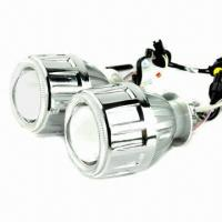 HID bi-xenon headlight projector lens kit with multicolor angel eyes  Manufactures