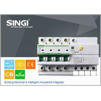 SG65LE-63 63A  RCCB residual current circuit breaker 4P / 63A / 230VAC , electric mcb Manufactures