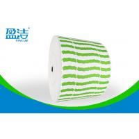 Green Color  Printed Paper Roll ,Width Of 835mm For 9 OZ Paper Cups Manufactures