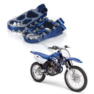 CNC Billet Aluminium Motorcycle / Dirt Bike Foot Pegs Super Strength Yamaha Foot Pegs Manufactures