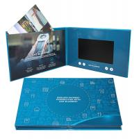 Digital Promotional LCD Video Brochure Card / Custom Video Brochure 7 Inch Tft Screen Manufactures