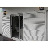 Sun Shade Movable Sliding Aluminium Louvre Windows with Lockable Handle Manufactures