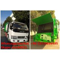 Quality 2017s best seller-dongfeng LHD/RHD 4tons compression garbage truck for sale, for sale