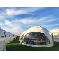 European Style Outdoor Canopy Geo Dome Tent 5m Diameter Exhibition Dome Manufactures