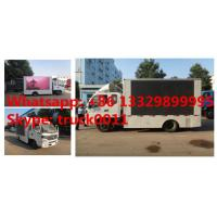 FOTON AUMARK 4*2 LHD/RHD mobile digital billboard LED advertising vehicle for sale,HOT SALE! P6/P8 mobile LED truck Manufactures