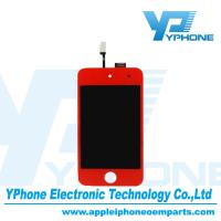 Red 960×640 Pixel 3.5 inches Cell Phone LCD Screen Replacement For iPod Touch 4 Gen Manufactures