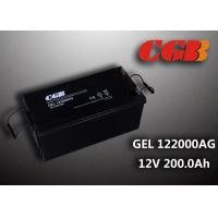 Reliable safe 200AH GEL Series 12V Lead Acid Battery Rechargeable No leaking Manufactures