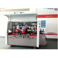Buy cheap High Performance 4 Sided Wood Planer , Four Sided Planer Moulder With 5 Spindle from wholesalers