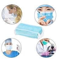 Eco Friendly Disposable Surgical Mask High BFE With Adjustable Nose Piece Manufactures