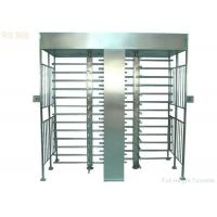 Security IR Sensor Full Height Turnstiles Gate Prison Government Barrier Manufactures
