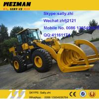 China brand new small tractor front end loader  LG918 with log grapple , sdlg 1ton wheel loader, chinese wheel loader for sale on sale