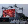 Shopping Malls P3.91 Outdoor Rental LED Display 6000 Nits Brightness Light Blocking Design Manufactures