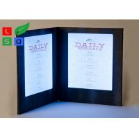 Customized Made LED Shop Display Stain Resistant For Restaurant Menu Display Manufactures
