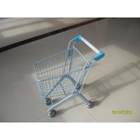 20 Liter Zinc Plated Kids Metal Grocery Shopping Cart CE / GS / Rosh Manufactures