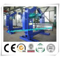 Chain Type Turning H Beam Welding Machine Half Automatic 4 Tons Chain Tilter Manufactures