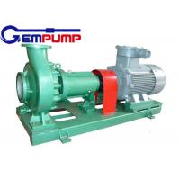 China IHF type Clean Water Pump luorine plastic corrosion resistant chemical pump on sale