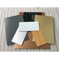 Bronze ACP Aluminium Composite Panel Corrosion Resistance Easy To Maintain Manufactures