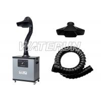 One Arm 80W Bench Top Fume Extractor Welding , low noise Air Purifying Machine Manufactures