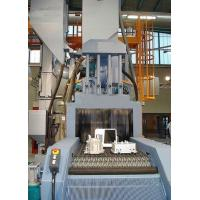 200kg Automatic Shot Blasting Machine Stainless Steel / ZGMn13 Wire Mesh Material Manufactures