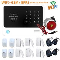 Battery powered motion detector alarm WIFI Alarm Manufactures