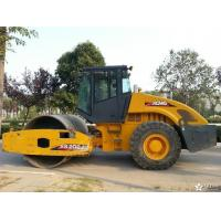 Single Drum Vibratory Second Hand Road Roller , XCMG Pneumatic Roller Compactor Manufactures